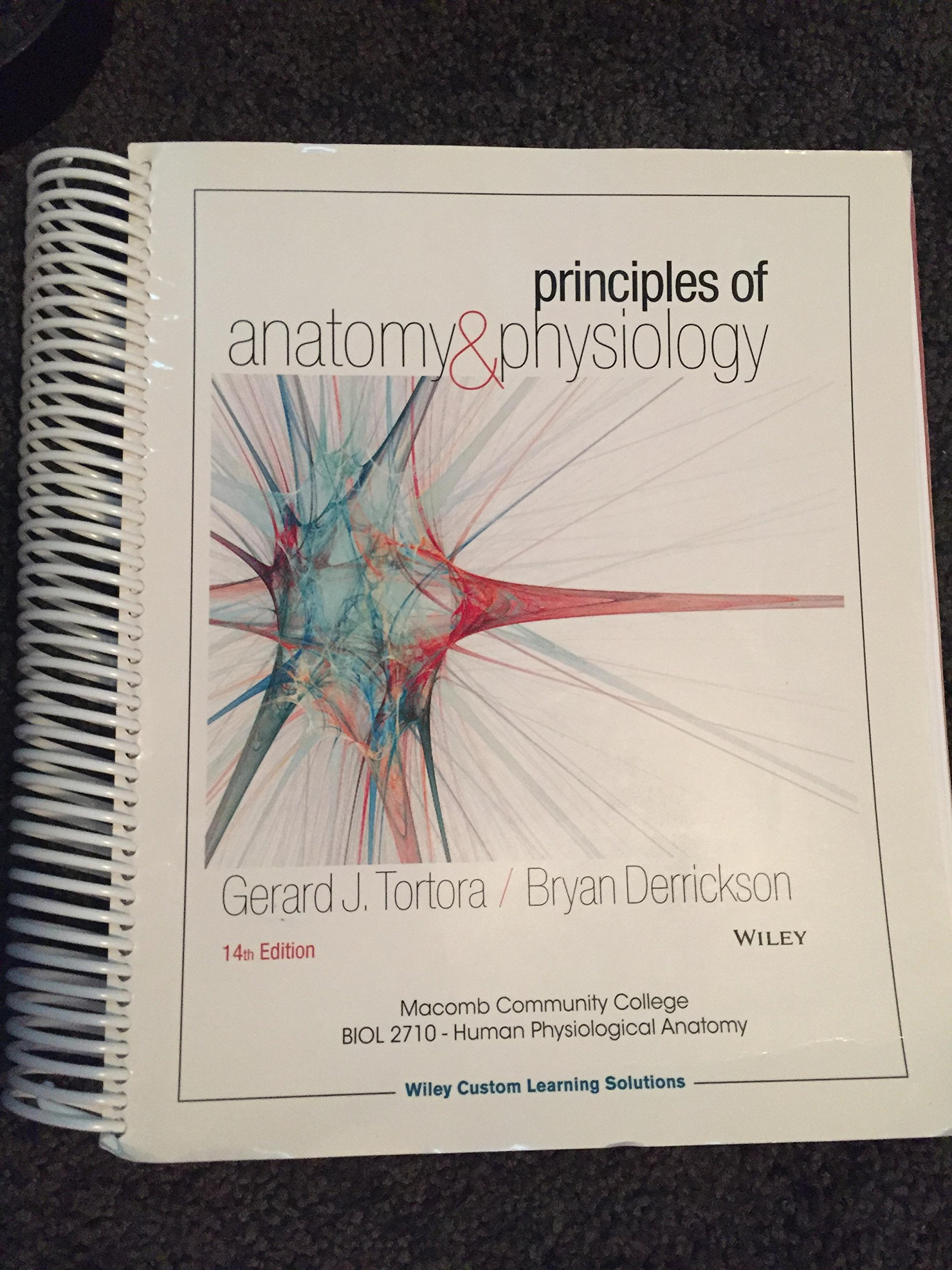 Principles of Anatomy & Physiology: Gerard J. Tortora, Bryan ...
