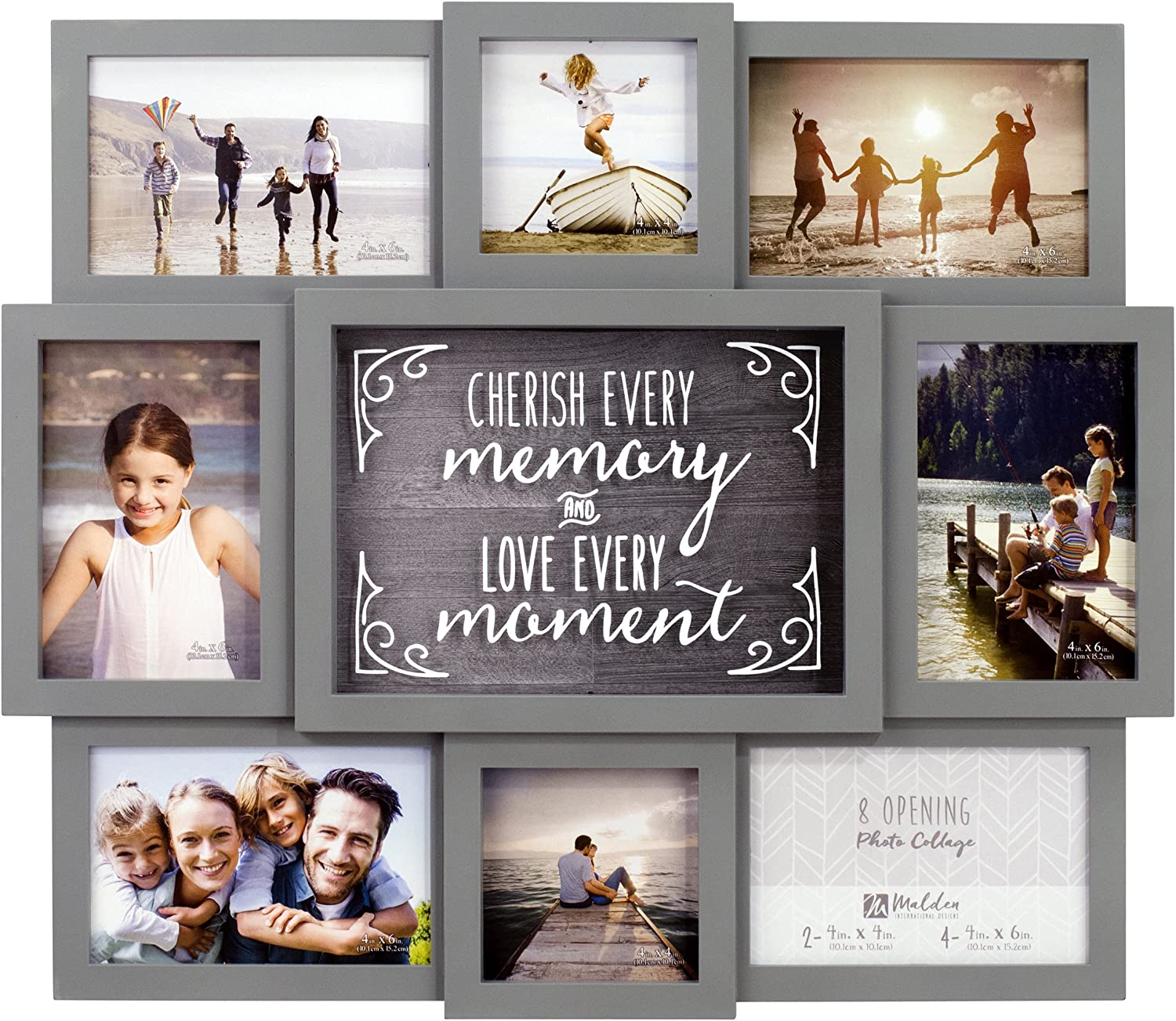 Malden International Designs 8372-08 8-OP Cherish Every Memory