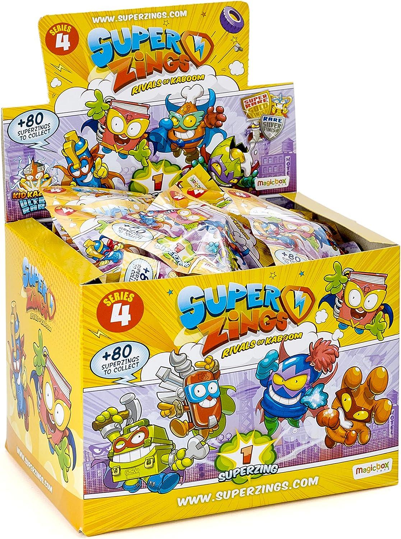Superzings IV - Display de 50 figuras coleccionables SuperZings , color/modelo surtido