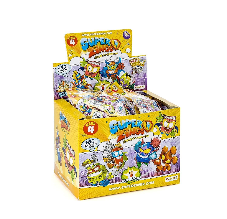 Caja completa con 50 sobres sobres One Pack SUPERZINGS serie 3