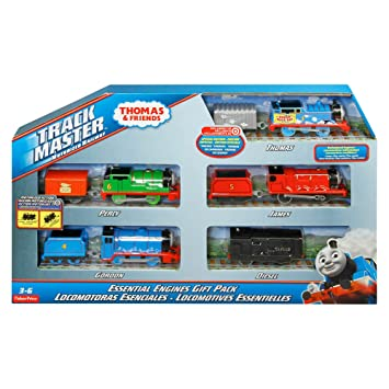 amazon thomas and friends track master motorized railway essential