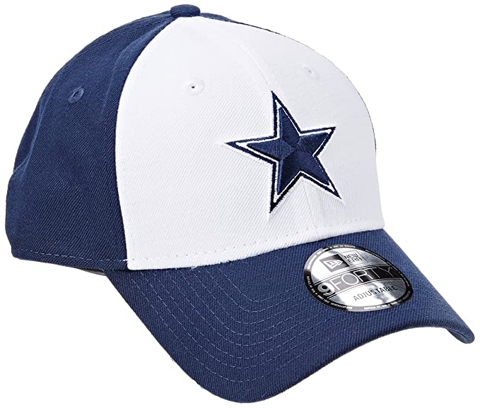 0fe77bc80 Amazon.com  New Era 9Forty The League Cap One Size Dallas Cowboys ...