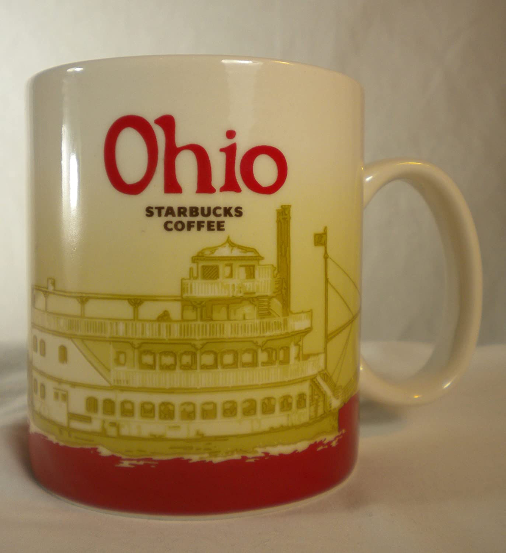Amazon.com | Starbucks Ohio Mug Global Icon Collectors Series ...