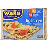 Wasa Crispbread - Light Rye, 9.5oz, 2 Pack