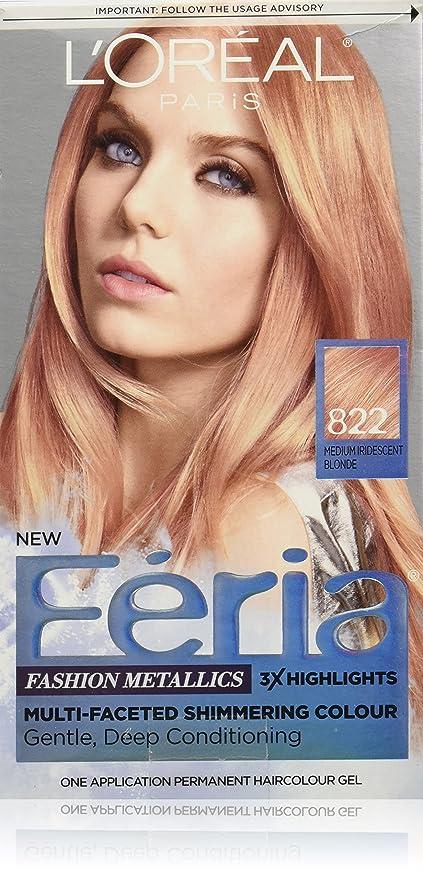 Buy Rose Gold Loreal Paris Hair Color Feria Multi Faceted