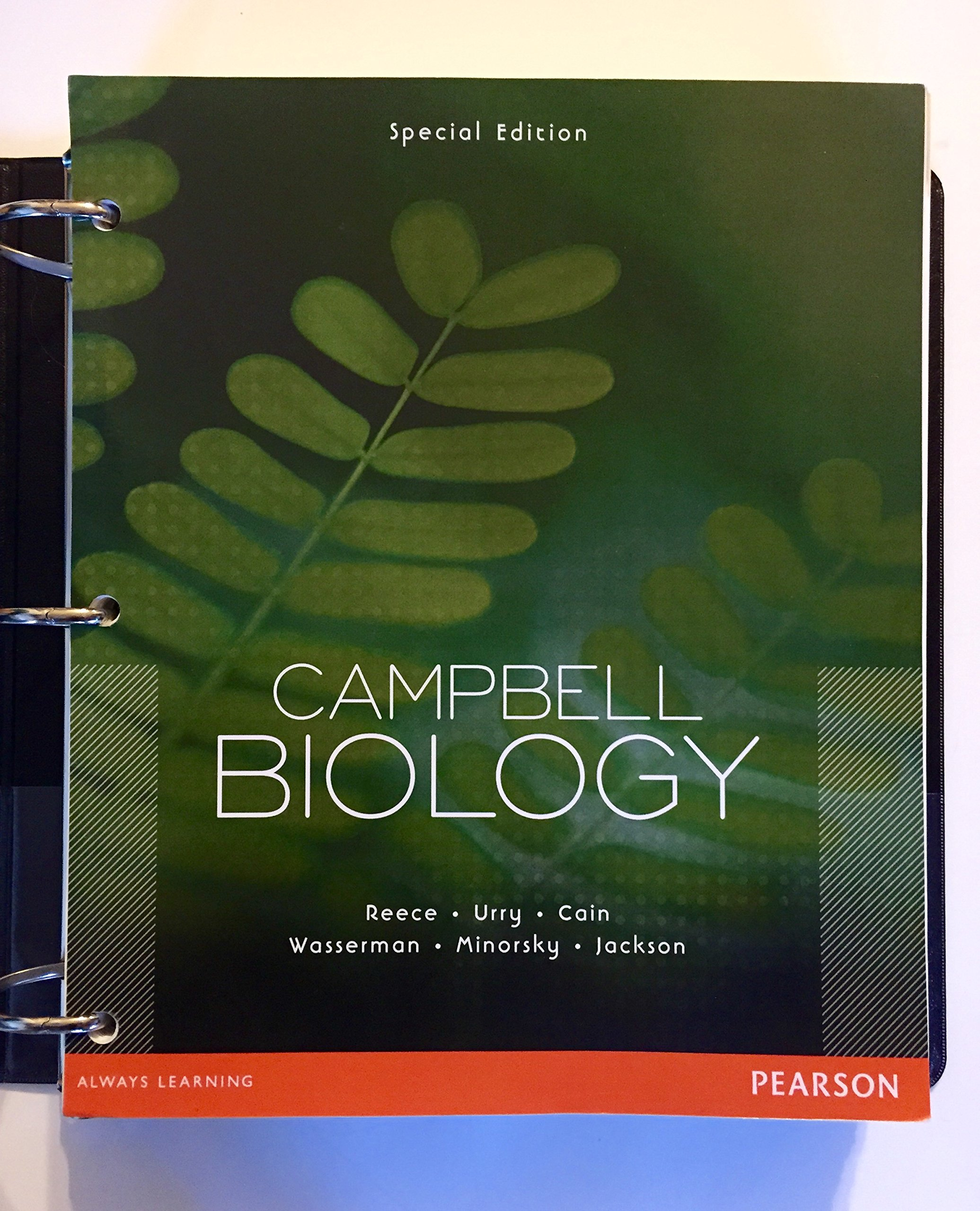 Campbell Biology Special Edition: Jane B. Reece: 9781256090922: Amazon.com:  Books
