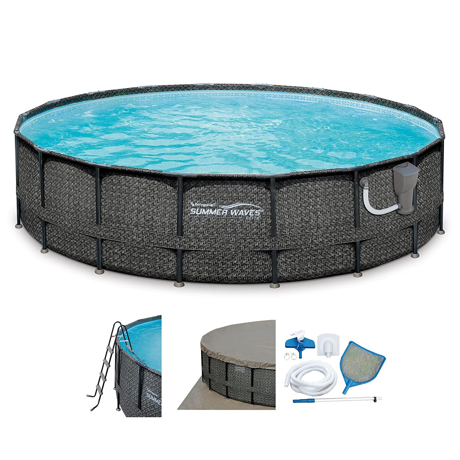 youtube pool watch it padding bottom do how install swimming yourself and floor to cove