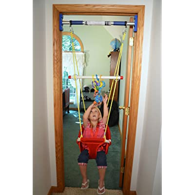 Rainy Day Indoor Infant/toddler Swing (Support Bar Sold Separately): Toys & Games
