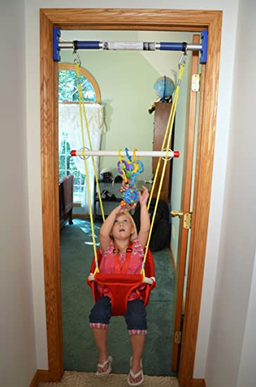 Rainy DayR Indoor Infant Toddler Swing Support Bar Sold Separately