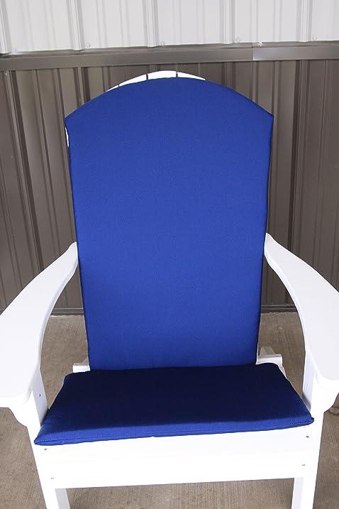 A U0026 L Furniture Sundown Agora Full Adirondack Chair Cushion, Seat 22L 17W  1u0026quot;