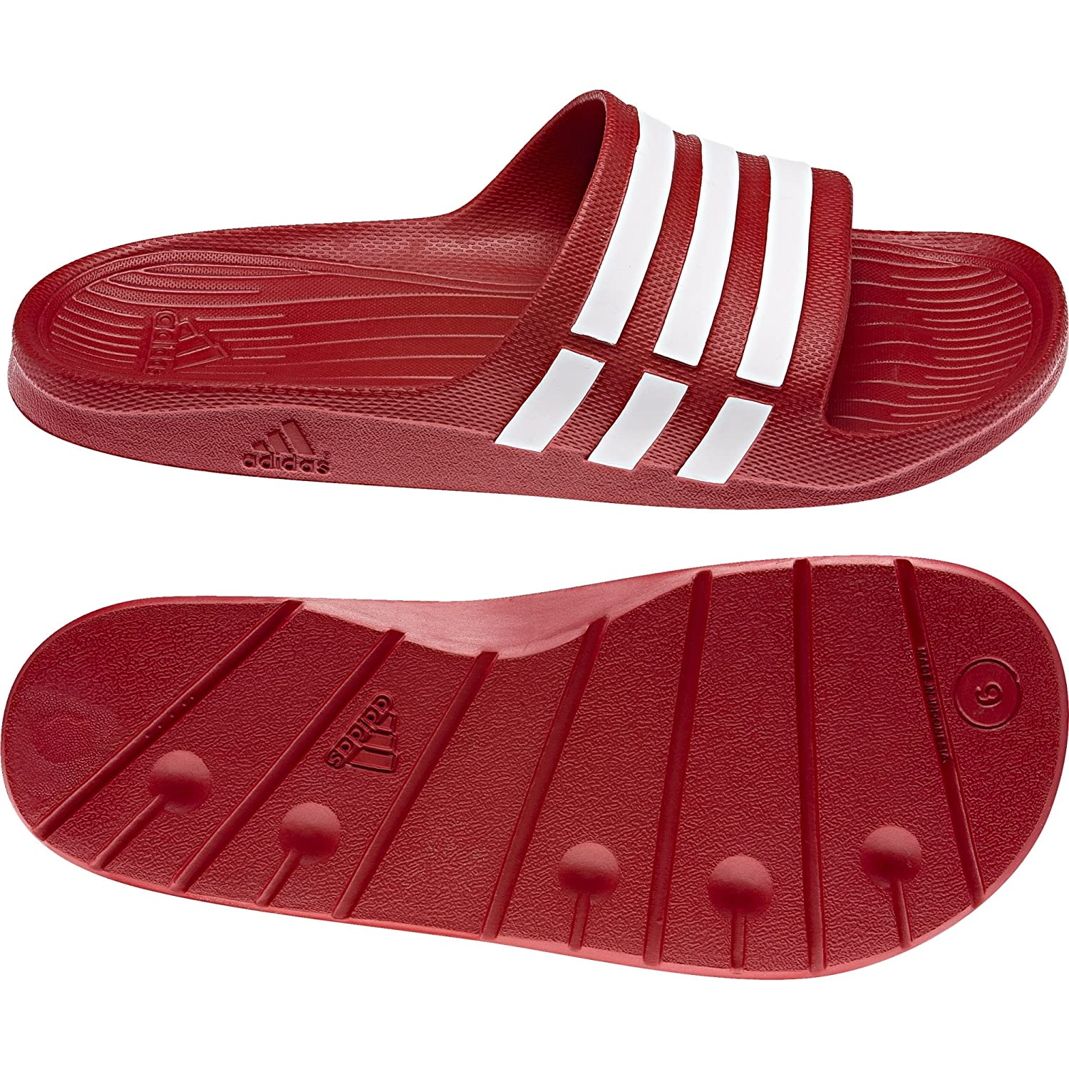adidas Duramo - Slide - Adulte Mules natation - Mixte Mixte Adulte red 0cf9b75 - reprogrammed.space