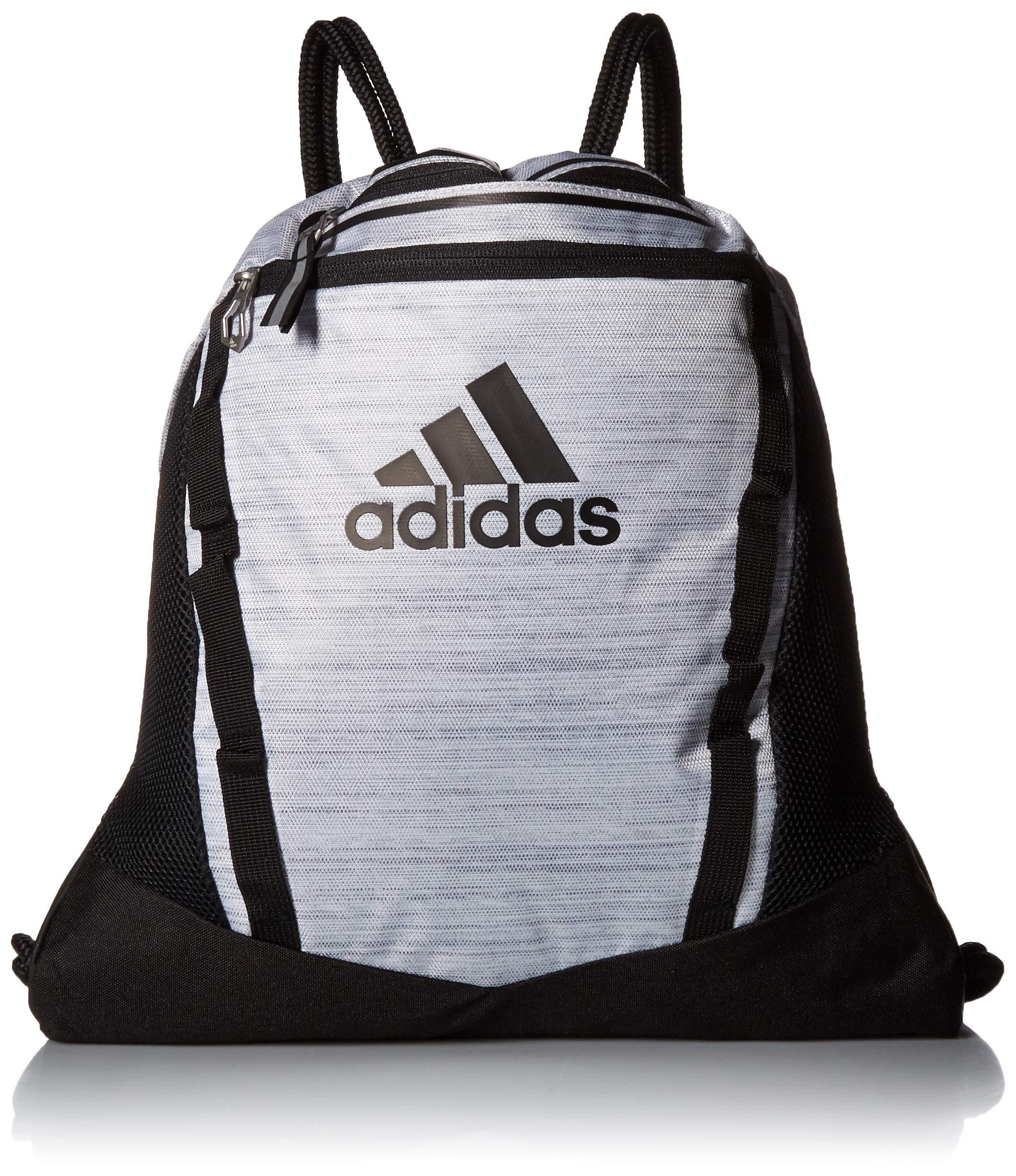 adidas Rumble II Sackpack, White Two Tone/Black, One Size