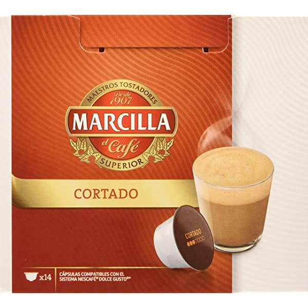 MARCILLA Café con Leche - cápsulas compatibles con las ...