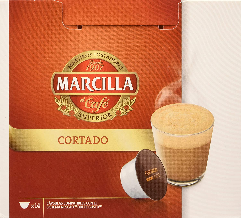 MARCILLA Cortado - cápsulas compatibles con las cafeteras Nescafé ...