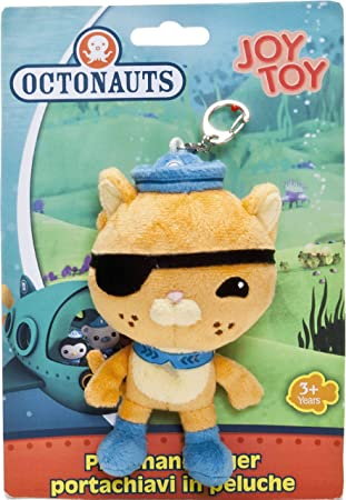 Joy Toy Octonauts 13cm Kwaazi Plush Keychain on Backer Card