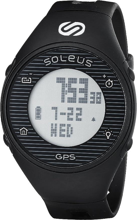 Soleus One - RELOJ GPS, color negro: Amazon.es: Electrónica