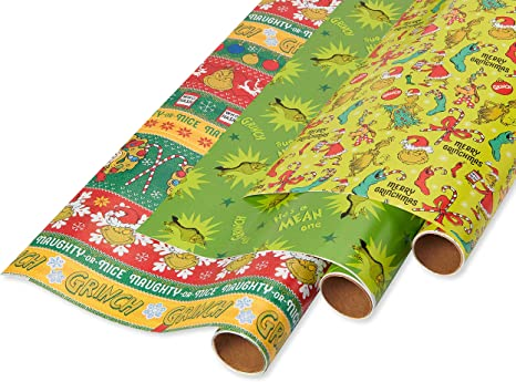 Luxury Christmas Gift Wrap Pack 5 Rolls Tags Cards Ribbon Bags Xmas Paper