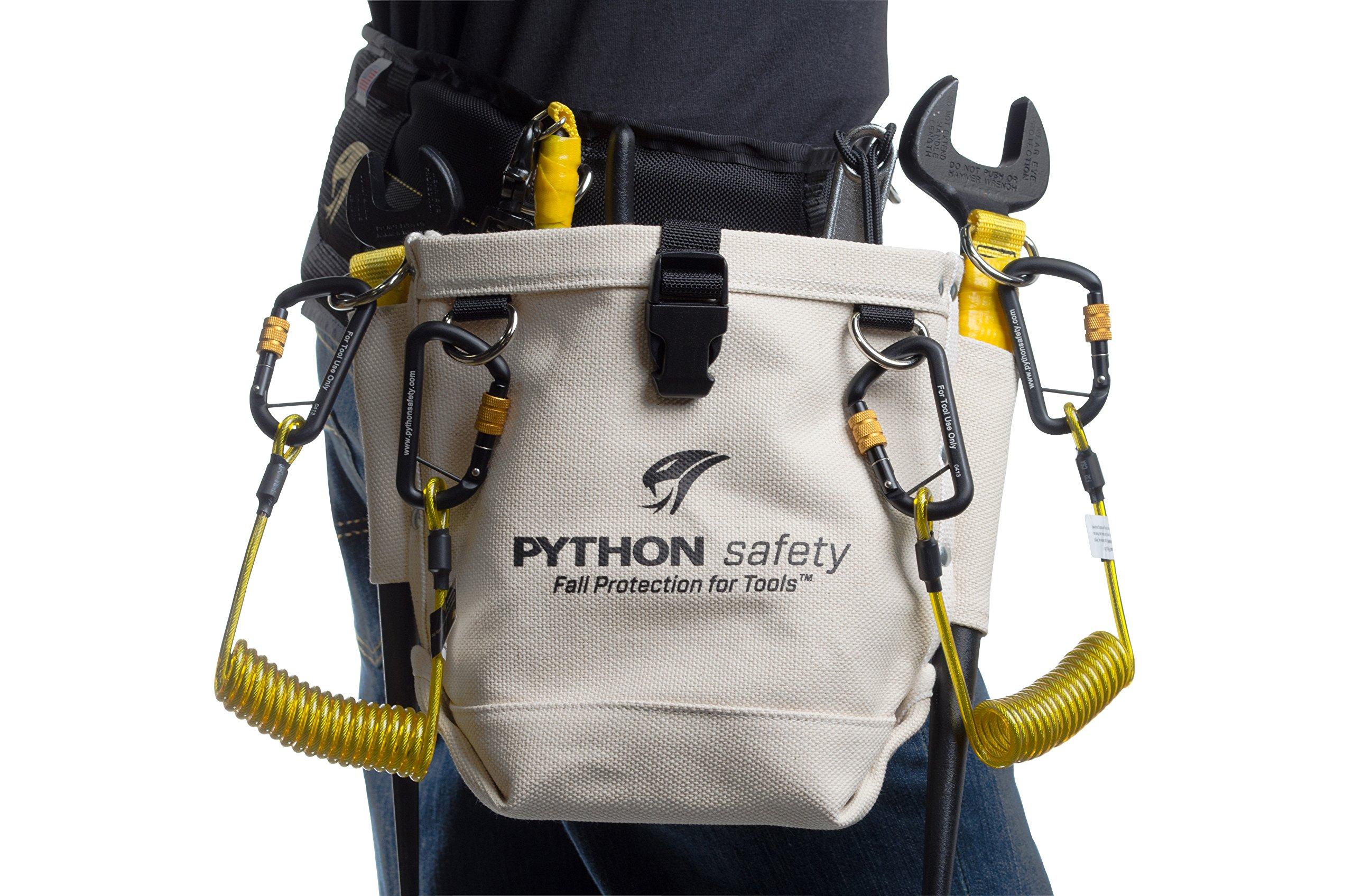 3M Python EXT-H2HCOIL Hook2Hook Coil Tether, 5  lb