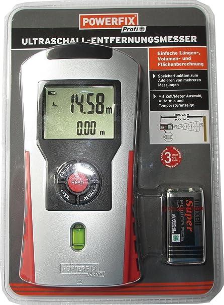 Powerfix Télémètre à Ultrasons Amazonfr Bricolage