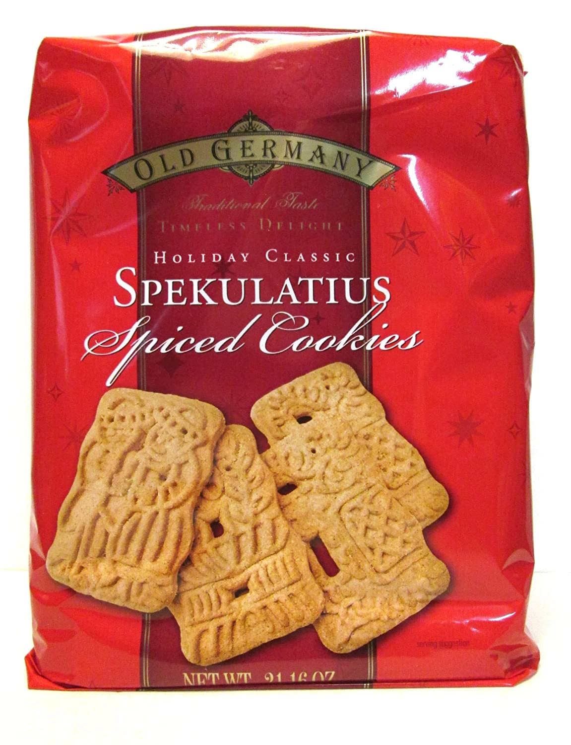 Old Germany Holiday Classic Spekulatius Spiced Cookies 21 16 Oz