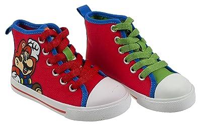 aa578529ebd17e Super Mario Brothers Mario and Luigi Kids Shoe