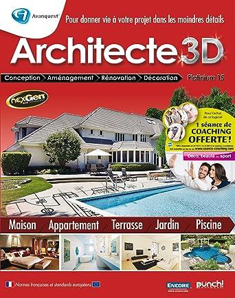 Architecte 3d Platinium 15 Amazon Fr Logiciels