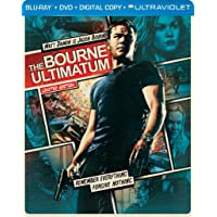 The Bourne Ultimatum Limited Edition Blu-ray Steelbook Deals