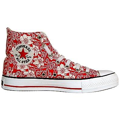 amazon Herren Schuhe Converse All Star Hi Schuherot Größe