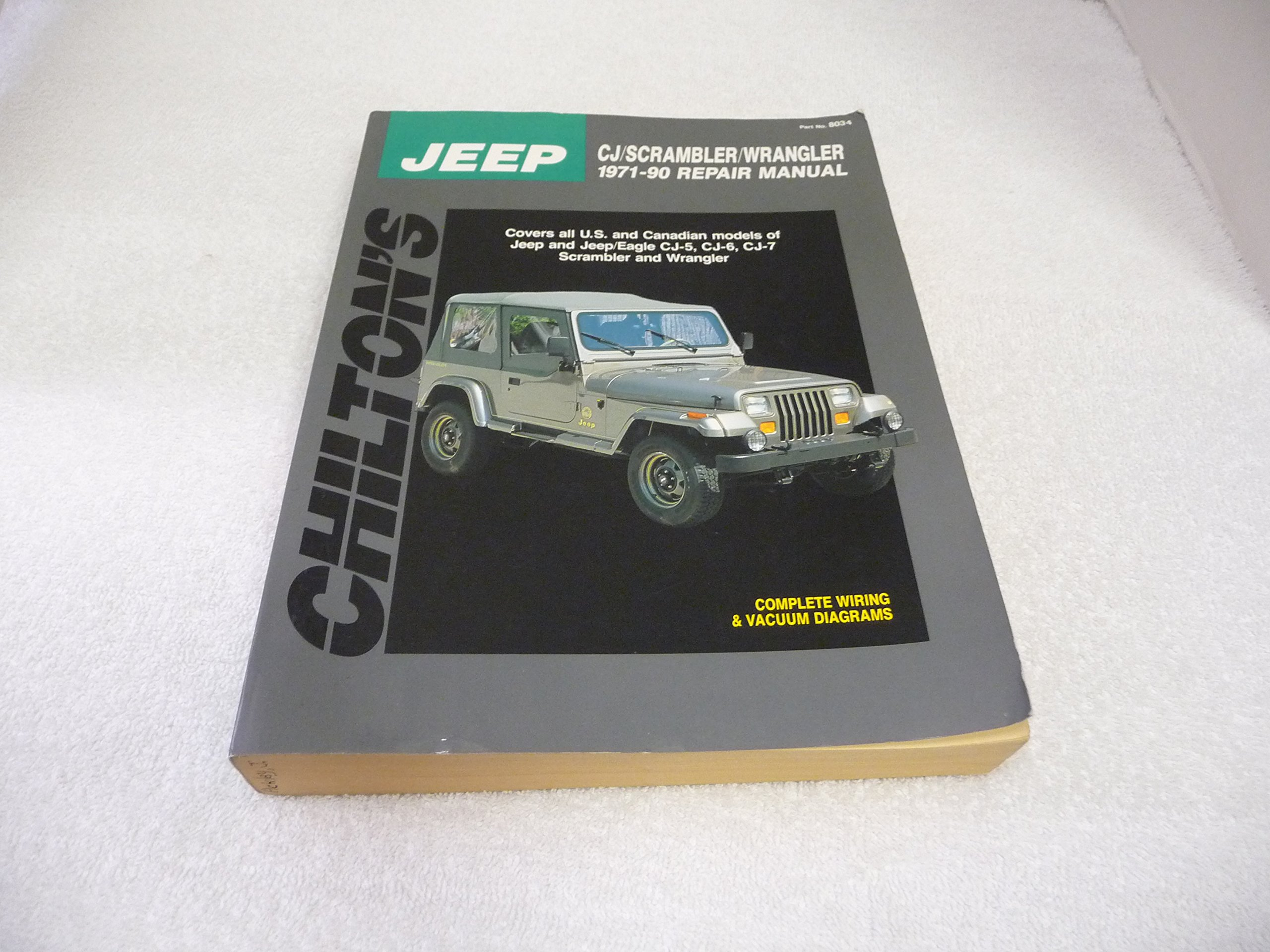 1982 Jeep 4 2 Engine Vacuum Diagram