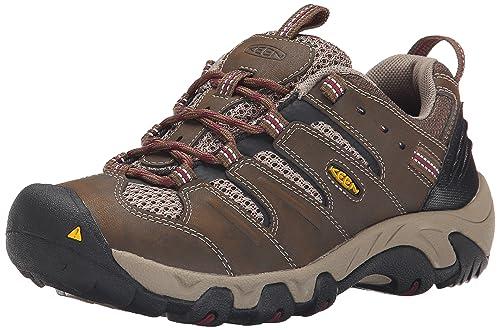 KEEN Zapatillas de senderismo Koven para mujer, Cascade Brown / Zinfandel, 6 M US: Amazon.es: Zapatos y complementos