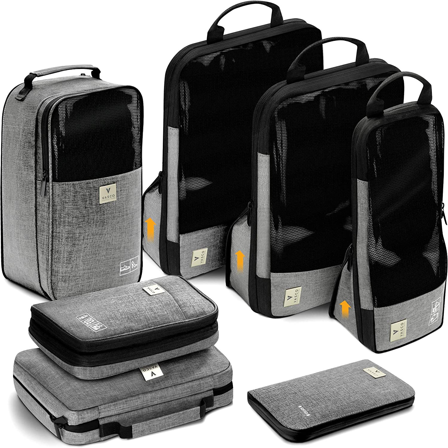 VASCO Compression Packing Cubes Set