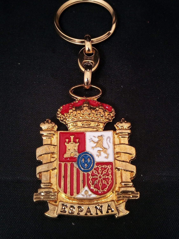 Llavero escudo de España