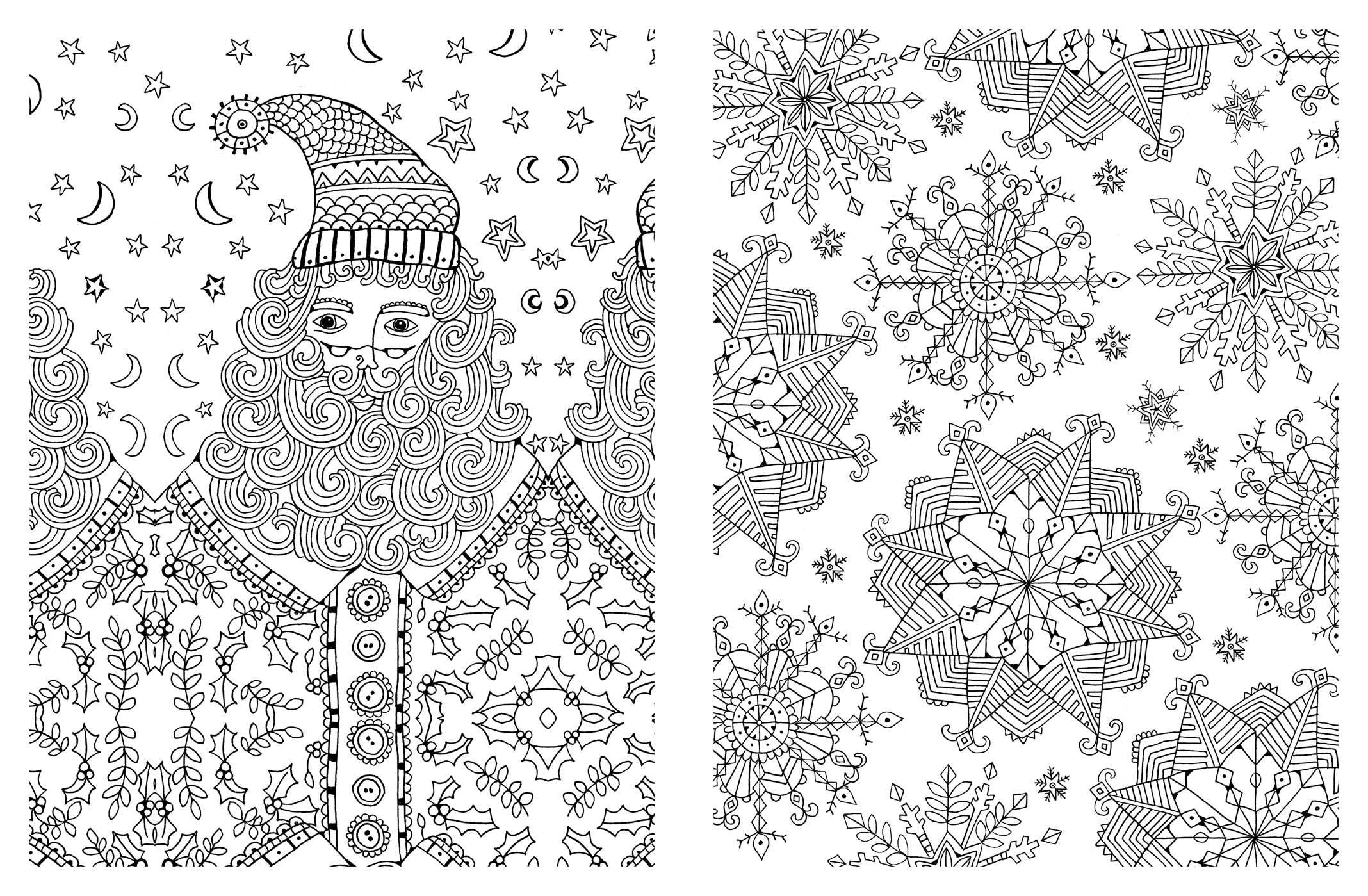 Amazon Com Posh Adult Coloring Book Christmas Designs For Fun