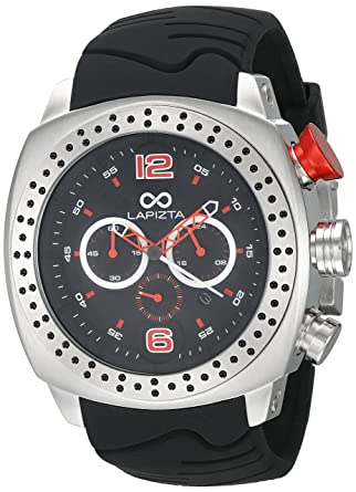LAPIZTA Accentor Mens 48mm Chronograph Racing Watch L23.1605