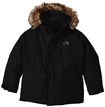 a409a145b9 North Face Mcmurdo Parka Garçon, Tnf Black, FR : L (Taille Fabricant :