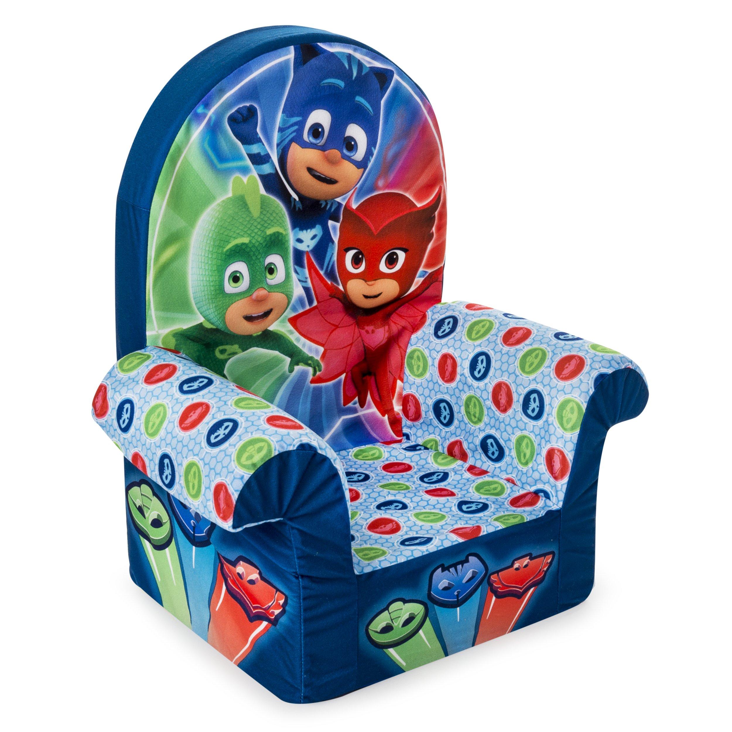 Marshmallow Furniture Children S Foam High Back Chair Pj Masks