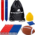 Flag Football Set for 12 Players - Includes Durable Flag Belts
