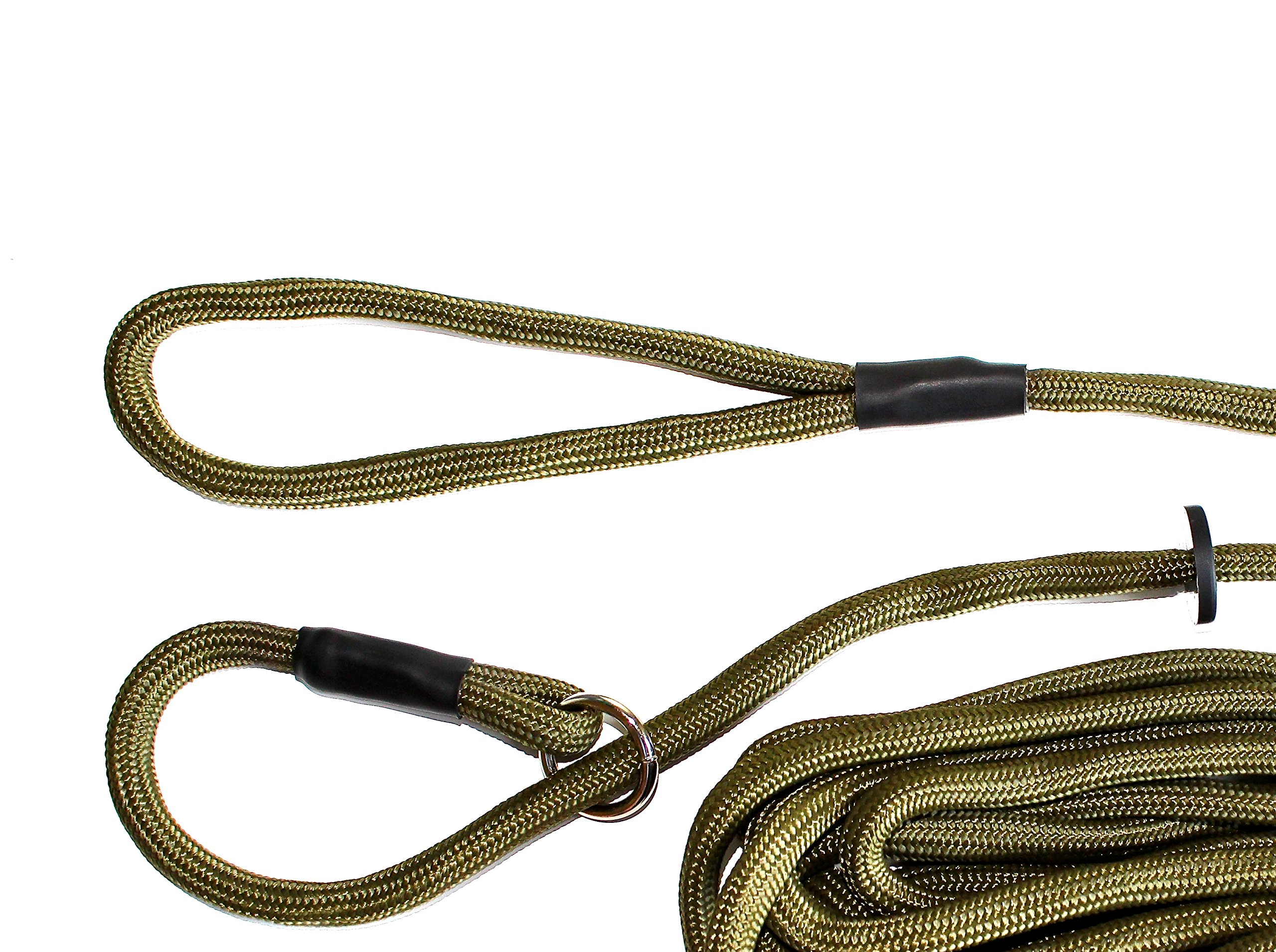 Dog & Field Training Lead - 20 Ft Long Training/Exercise Lead - Soft Braided Nylon by Dog & Field