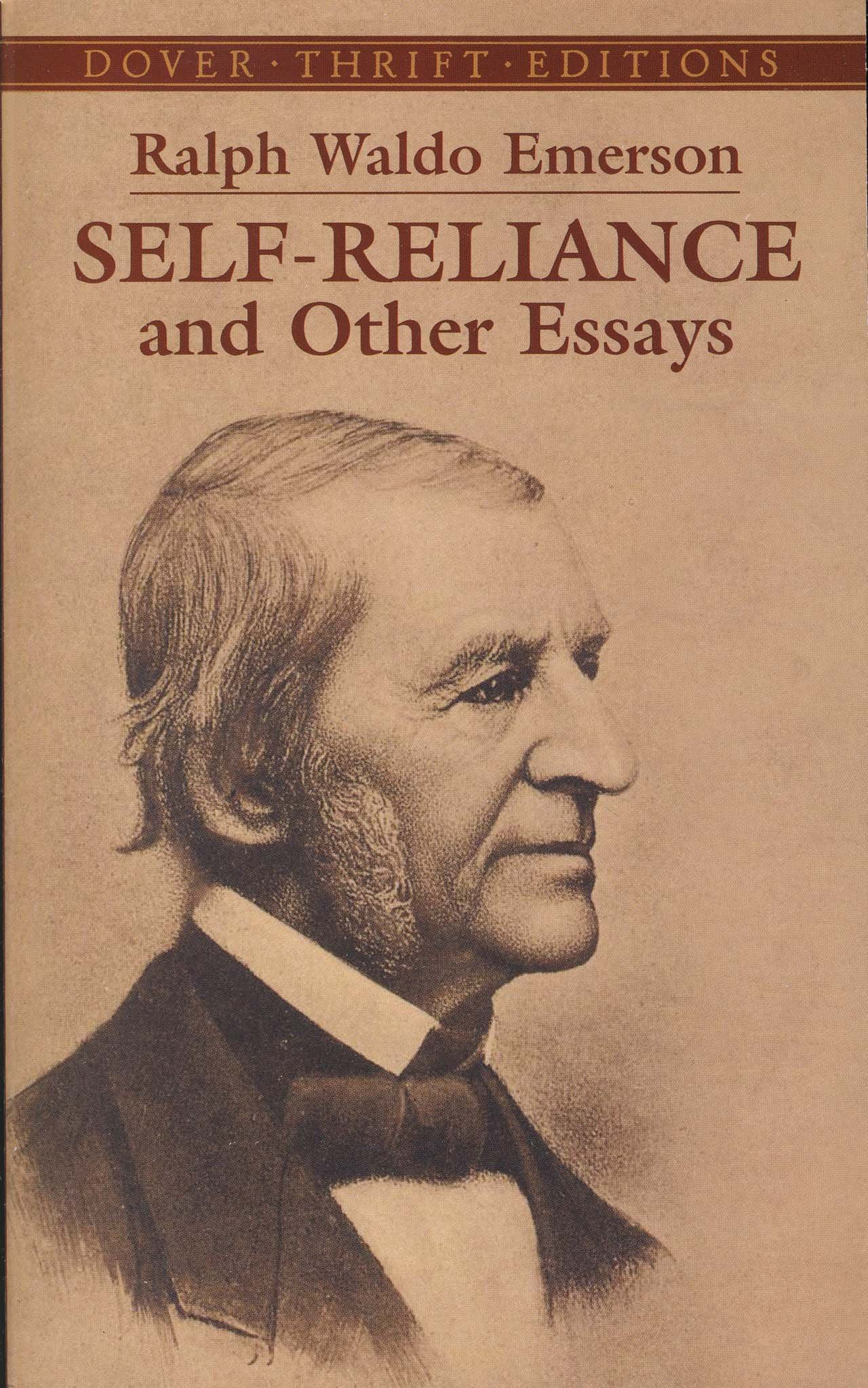 self reliance and other essays dover thrift editions ralph self reliance and other essays dover thrift editions ralph waldo emerson 9780486277905 com books