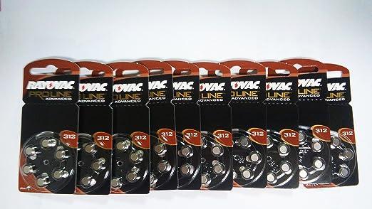 108 opinioni per RAYOVAC Advanced Pile Tipo 312 1,4 V 180 mAh per apparecchi acustici, confezione