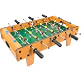 Global Gizmos Large Size Table Top Football Foosball Game