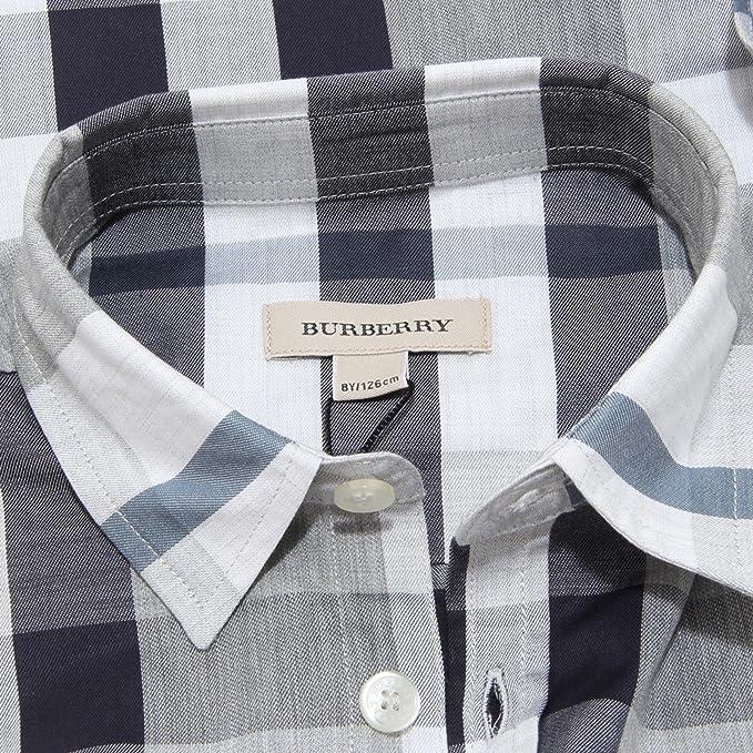 Burberry - Camisa - para niño gris X-Small: Amazon.es: Ropa y ...
