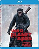 War For The Planet Of The Apes (Bilingual) [Blu-ray + DVD + Digital Copy]