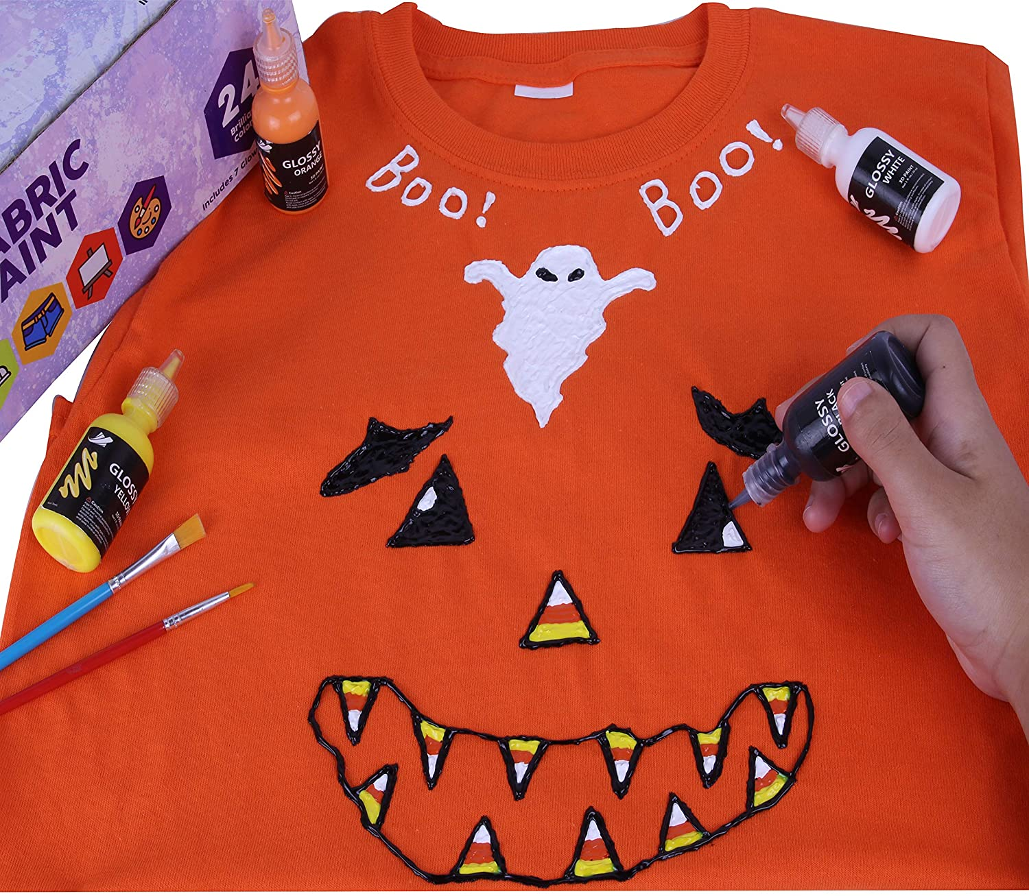 cc170bb93 How To Decorate T Shirts With Fabric Paint - DREAMWORKS