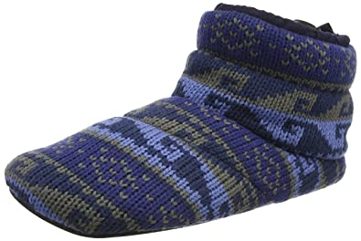 Mens Clarks Boot Style Slippers Kite Jump Blue Size 10G: Amazon.co ...