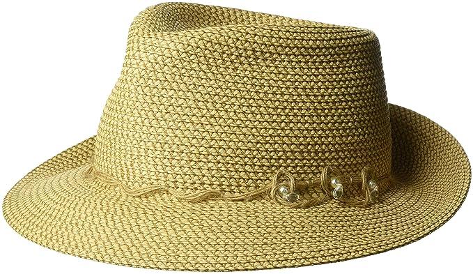Eric Javits Luxury Women s Designer Headwear Hat - Mustique - Peanut at  Amazon Women s Clothing store  6b88d8ad66ab
