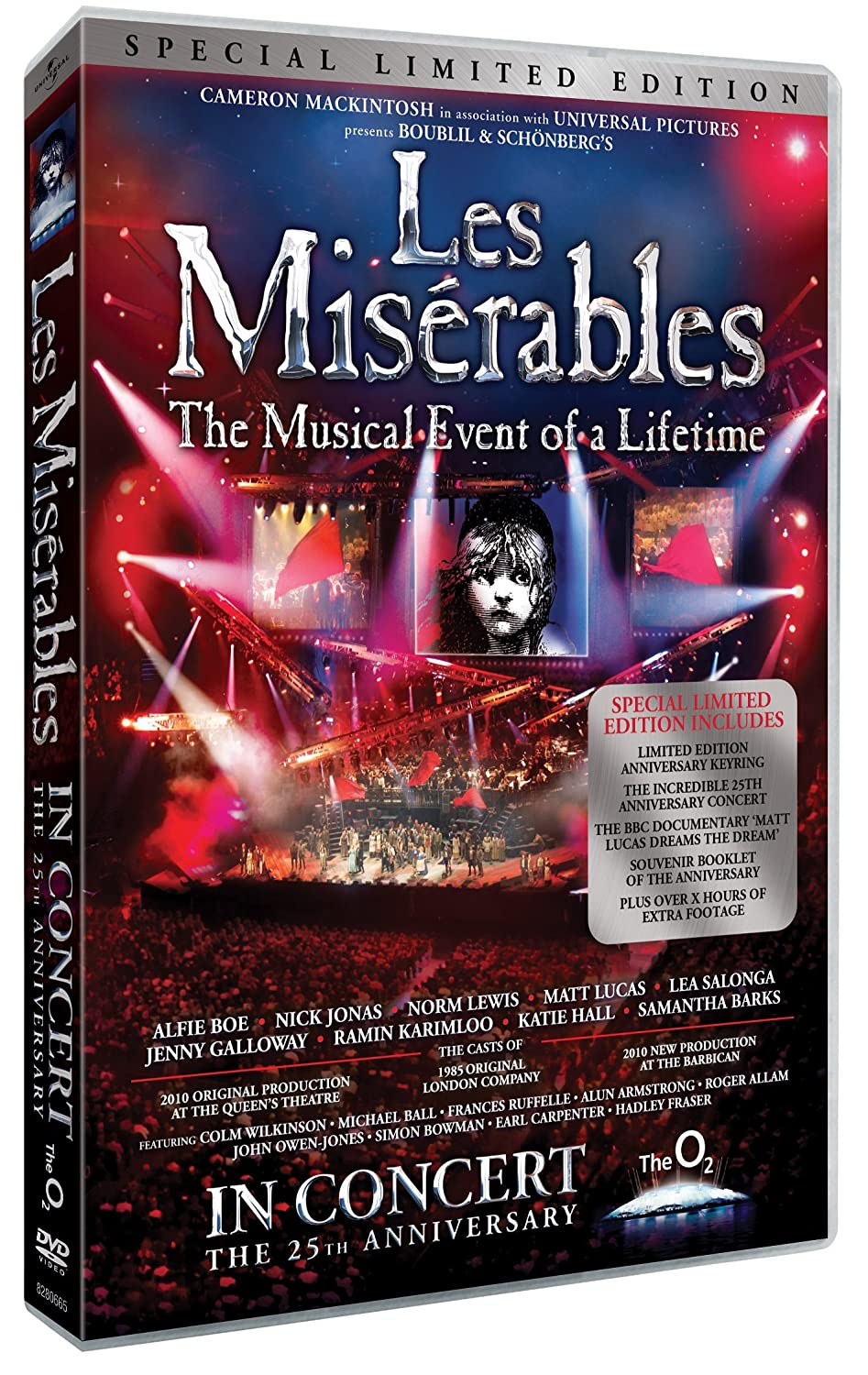 les miserables in concert 25th anniversary special limited edition