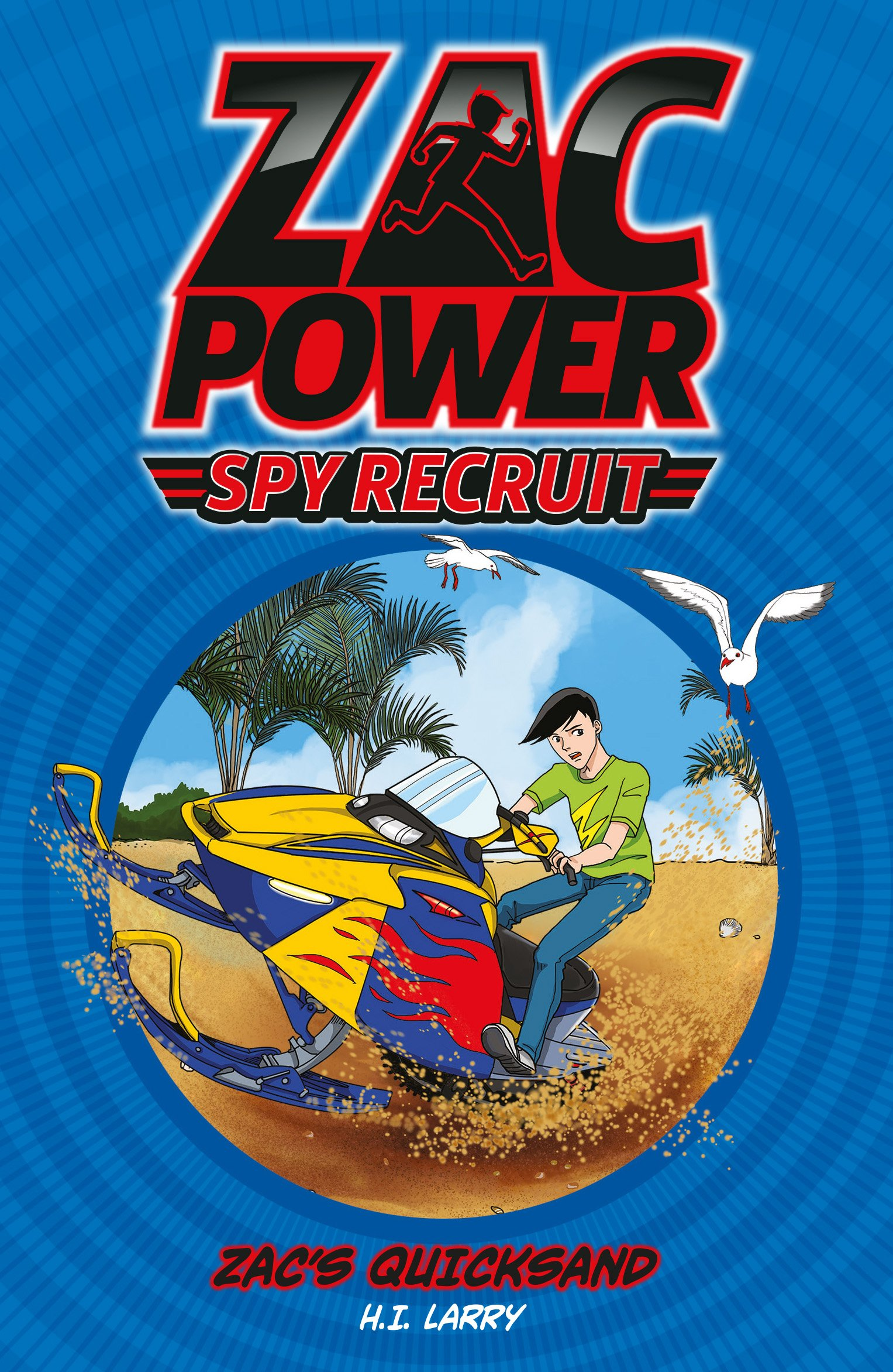Download Zac's Quicksand (Zac Power Spy Recruit) pdf epub