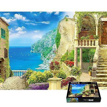Italian View 1000 Piece Puzzle