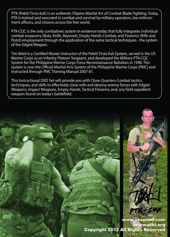Amazon.com: MILITARY PTK-CQC Close Quarters Combat System - Two (2) DVD  Set: Tim Waid: Movies & TV
